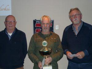 V.L.N.R. JAN DE BOER(TWEEDE),PIET BRANDSMA(kampioen),WILLEM VISSCHER (DERDE)