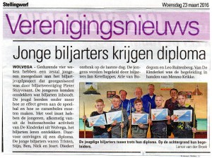 "Publicaties Courant ""Stellingwerf"" 22 maart 2016"