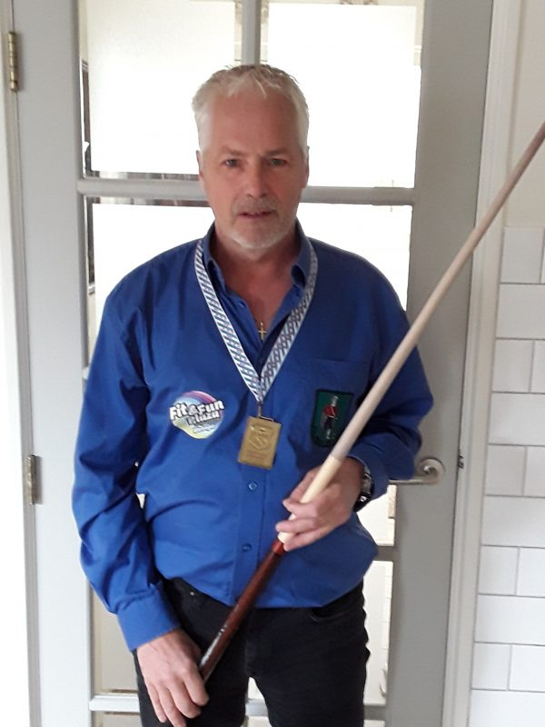 Piet Brandsma Fries kampioen drienbanden 2e Klas